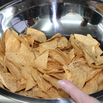 Chips made fresh